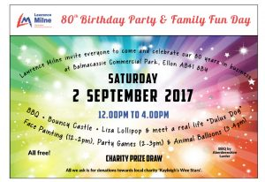FREE FAMILY FUN DAY & BBQ to Celebrate 80 Years in Business